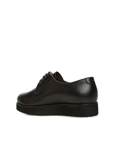 George Hogg 7004238 Kadın Deri Ayakkabı Siyah